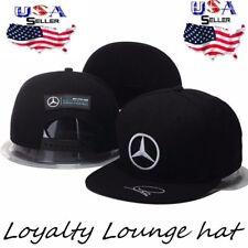 Embroidered MERCEDES BENZ² Logo AMG Cap Sport Snapback Hat outdoor Adjustable A1