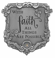 MUSTARD SEED Visor Clip, With Faith All Things Are Possible, by AngelStar 7271