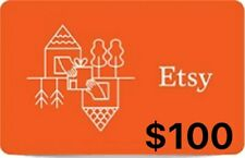 Etsy Gift Card $100 - Fast Email same day delivery