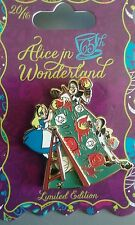 pins disney alice wonderland cartes card Paint LE