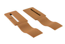 88-92 Camaro/Firebird Seat Belt Headliner Upper Trim Beechwood Tan Pair