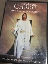 Movie in DVD -Como hallar fe en Cristo(Finding faith in Christ) ingles y español