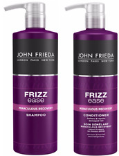 John Frieda Frizz Ease Miraculous Recovery Shampoo & Conditioner 500ml Pump NEW