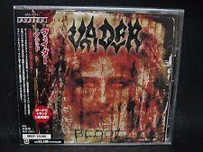 VADER Blood + 1 JAPAN CD Christ Agony Panzer X Dies Irae UnSun Impurity