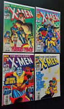 Lot of 4 X-Men #299 300 302 303 ALL NM! Wont Last!