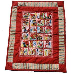 With All My Heat Mary Mulari Marcus Bros Valentines Alphabet Quilt Hand Quilted