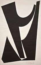 Herbert Seidel - o.T. - Holzschnitt - 1967