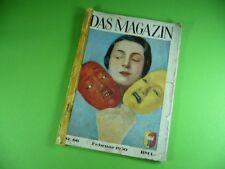 703GW1 DAS MAGAZIN 1930 (Erotik, Akt, 30er Jahre) Lucie Kollo, Richard Tauber