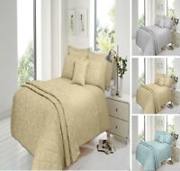 Luxuries SAVOY Jacquard Duvet Quilt Cover Bedding Set All Size Or Bed Spread
