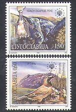 Yugoslavia 1995 Bird/Shore Lark/Bat/Nature/Conservation/Animals 2v set (b2548)