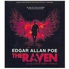 The Raven and Selected Short Stories by Edgar Allan Poe (2012, CD, Unabridged) K