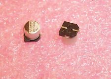 QTY (50) 22uf 50V SMD ALUMINUM ELECTROLYTIC CAPACITORS ALS220M50V6.3X6.3 SMEC