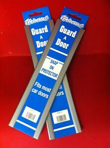 4 CAR DOOR EDGE GUARD PROTECTOR  SILVER OR GREY 2 PACK 4 FT TOTAL LENGTH