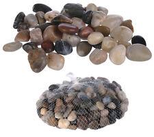 Dekosteine Dekokiesel Kieselsteine Netz mit 1 kg Inhalt 8-12mm Kiesel Dekoration