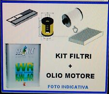 KIT TAGLIANDO 4 FILTRI  + OLIO SELENIA WR 5W40 FIAT BRAVO 1.9 MTJ  2007>
