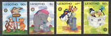 Lesotho 1985 Disney/OWL/Elephant/Winnie the Pooh s2610
