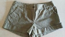 Ladies Size 6, Khaki shorts from Dotti.