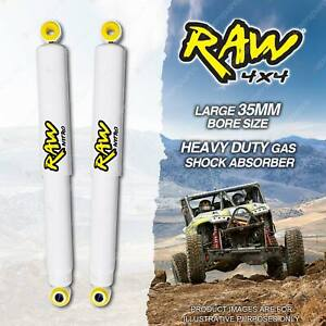 2 x Front 50-100mm Lift RAW 4x4 Big Bore Shock Absorbers for Ford F Series F250