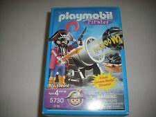 PLAYMOBIL PIRATES BLACKBEARD 5730 WITH CANNON