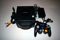 GameCube Black Nintendo DOL-101 Console Video Game System Complete