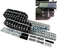 Mato Metal Tracks Rubber Pads MT157 For HengLong RC Tank 3889 1/16 Leopard2A6