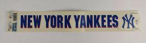 New York Yankees MLB Baseball Vintage 1997 Window Cling Car Decal Sticker