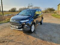 2017 Ford Ecosport 1.5 TDCi 95 Titanium 5dr [17in] Hatchback Diesel Manual