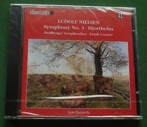 Ludolf Nielsen Symphony No. 3 / Hjortholm Bamberger Symphoniker New Sealed CD
