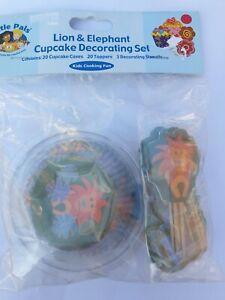 Animal Cupcake Decorating Set
