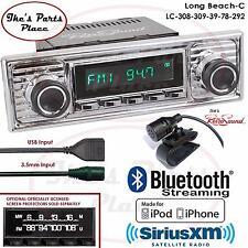 RetroSound Long Beach-C Radio/BlueTooth/iPod/USB/Mp3/RDS/3.5mm AUX-In-308-309-VW