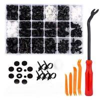 435PZ/ Set Fissaggio Rivetti Nylon Plastica Push Clip Paraurti Per Auto corpo-