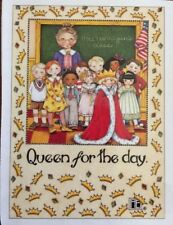 Mary Engelbreit Artwork-Queen For The Day-Handmade Magnets