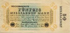 Germany 50 Billions Mark 1923 #0000029
