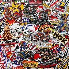 400 Mixed Random Stickers Motocross Motorcycle Car ATV Racing Bike Helmet Decal