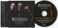 BEE GEES ~ ONE NIGHT ONLY (ALBUM SAMPLER) ~ 1998 UK 4-TRACK RADIO PROMO CD