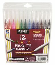 Sargent Art Classic Markers - Brush Tip - 12 count