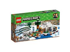 NEW LEGO Minecraft - The Polar Igloo (21142) Kids Childrens Toys