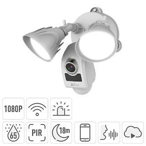 EZVIZ WiFi Outdoor Floodlight Security Camera - White - BRAND NEW BOXED