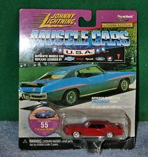 Johnny Lightning Muscle Cars USA 1971 Pontiac GTO Collector No 55 - NOC
