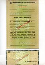 The National Bank of Australasia Circular Letter of Credit Specimen