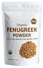 Fenugreek Powder(Methi) certifiedOrganic Supports Lactation Hair Care 4,8,16 oz
