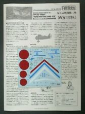 Fine Molds 1/48th Scale IJA KI-10-II Type 95 Decals from Kit No. 499138