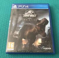 Jurassic World Evolution - Sony PlayStation 4 - PS4 - VGC