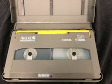 "NEW MAXELL D5C94L D5 1/2"" Large XD Digital Video Cassette Tape 94M ""Lot of 10"""