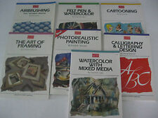 Walter Foster ARTIST'S LIBRARY SERIES Books   7-Title  to choose   Brand New