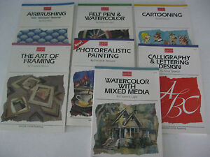 Walter Foster ARTIST'S LIBRARY SERIES Books --Please choose from drop List- New