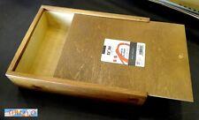 PITTURA - Cassetta scatola in legno porta colori o porta oggetti - 27x20,5x6 cm