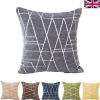 "18*18"" Fashion Chenille Geometric Cushion Cover Pillow Case Home Car Decorations"