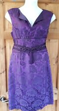 Phase Eight Purple Oriental Size 16 Evening/Cocktail/Party Dress (14)