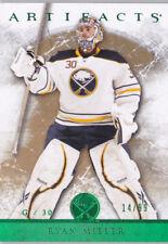 12-13 Artifacts Ryan Miller /99 EMERALD Sabres 2012